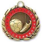 Custom QUIKturn Soccer 3D Medallion in 3 or 5 Day Production