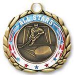 Custom QUIKturn Hockey 3D Medallion in 3 or 5 Day Production