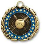 Custom QUIKturn Baseball 3D Medallion in 3 or 5 Day Production