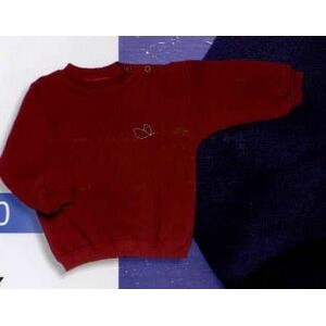 Infant's Fleece Crewneck Custom Sweater (12 Month)