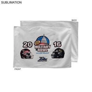 Bowl Game Rally Towel, 12x18, Sublimated or Blank