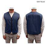 Custom Poplin Vest, Zipper Closure, Blank