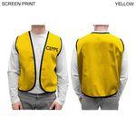 Custom Twill Supermarket Vest (Printed)