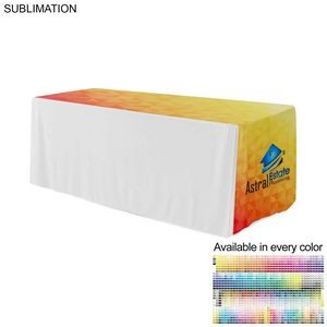 "Sublimated Horizontal Table Runner, 126"" Length, Fits various Table sizes"