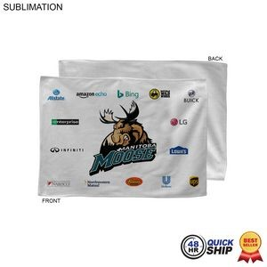 48 Hr Quick Ship - Sponsorship Rally Towel, 12x18, Sublimated or Blank