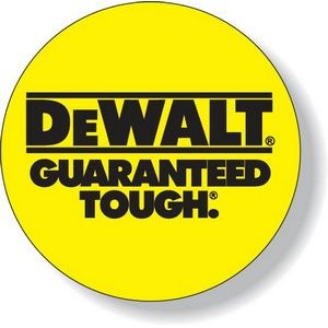 7.1 to 12 Sq. Inch Custom Yellow Matte Vinyl Decal with Standard Adhesive