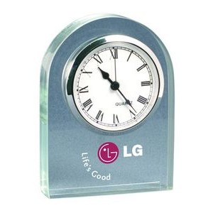 "Acrylic Desk and Mantle Clock Dome Frame (3""x 4""x 3/4"") Laser"