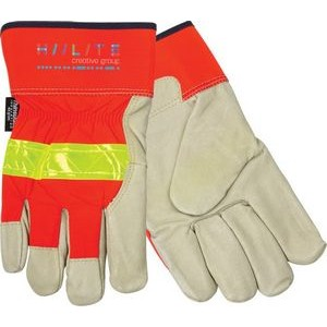 Insulated Top Grain Pigskin Leather Palm Glove