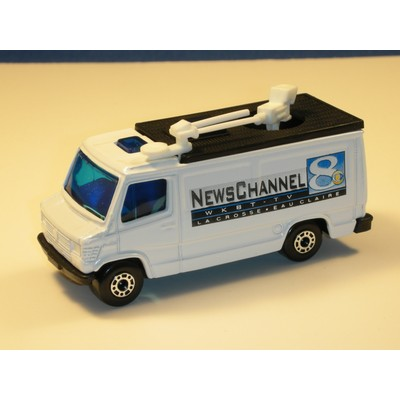 Matchbox TV News Truck