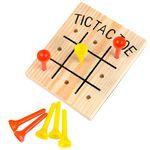 Custom Wooden Tic Tac Toe Game