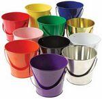 Custom Color Metal Bucket (4.75
