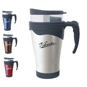Signature Travel Mug w/Soft Grip