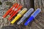 Custom 3 in 1 Compact Utensil Set (Spoon/Knife/Fork Combo ) Assorted Colors