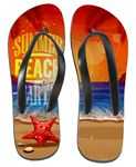 Custom Sublimated Flip Flops