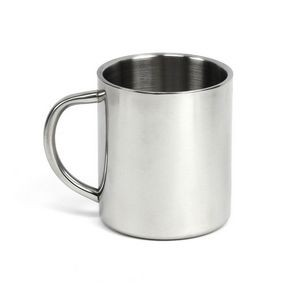 9 Oz. Stainless Steel Mug w/ C Handle