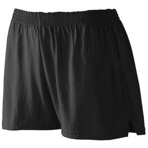 Custom Girls' Junior Fit Jersey Short