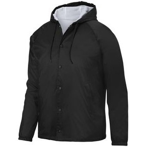 Adult Hooded Coach's Jacket