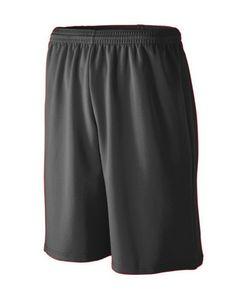 Custom Youth Longer Length Wicking Mesh Athletic Short