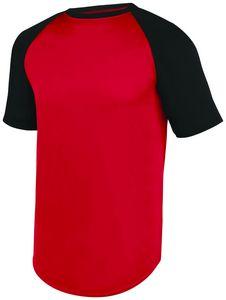 Custom Adult Wicking Short Sleeve Baseball Jersey