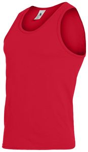 Custom Adult Poly/Cotton Athletic Tank Top