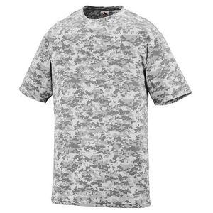 Custom Adult Digi Camo Wicking T-Shirt