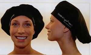 Banded Bouffant Scrub Cap with Velcro Closure