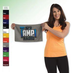 11 X 18, 1.0 lb., Terry Loop Hemmed Rally Towel (Screen Print)