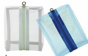 Fun & Funky Transparent Accessory Pouch