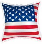 Custom Inflatable USA Flag Pillow