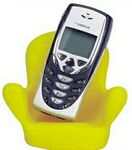 Custom Rubber Chair Shaped Cell Phone/ Accessory Holder
