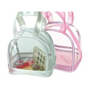 Clear Cosmetic Hand Bag