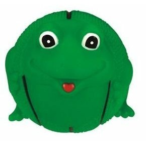 Rubber Basketball Shaped Frog Dog Toy©