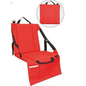 Stadium Seat Cushion w/ Pocket