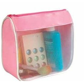 Clear Front Cosmetic Bag