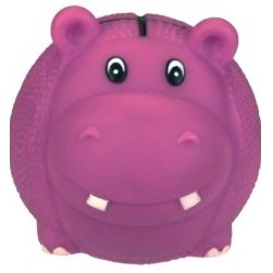 Rubber Basketball Shaped Hippo Dog Toy©