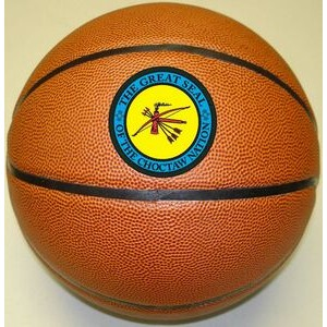 "Official 9.5"" Synthetic Leather Basketball (Debossed)"