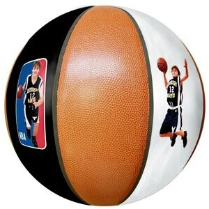 "Official 9.5"" Photo Basketball"