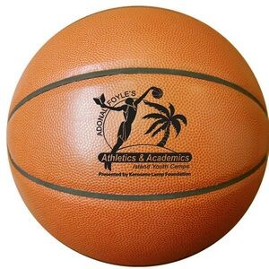 "Mini 7"" Synthetic Leather Basketball (Debossed)"