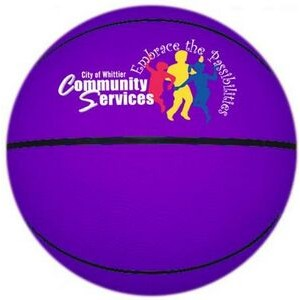 "Junior 8.5"" Basketball (Rubber)"