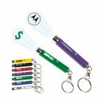 Custom Logo Projection Key Ring (Full Color Logo)