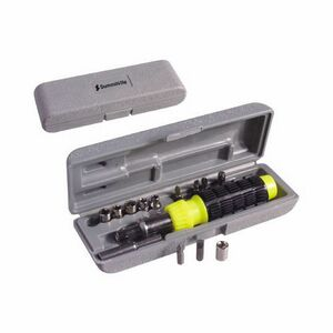 15-Piece Ratchet/Screwdriver Set w/ Case