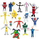 Custom Custom Bendable Rubber Figures (4