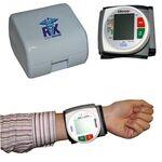 Custom Wrist Blood Pressure Monitor w/ Heart Health WHO Indicator & Case