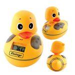 Custom Waterproof AM/ FM Duck Radio w/ Water Thermometer