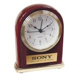 Custom Rosewood Finish Alarm Clock