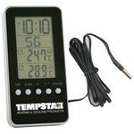 Custom Indoor/Outdoor Digital Thermometer Alarm Clock