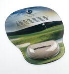 Custom Combo-Padz Mousepad w/Bunker Sand Filled Wrist Rest