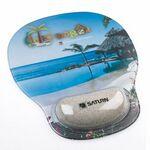 Custom Combo-Padz Mousepad Motion Wrist Cushions - Sand Filled
