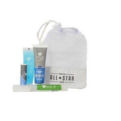 Small Mesh Bag with Sanitizer Pen