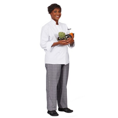 C8P 8 Button Economy Classic Chef Coat (X-Large)